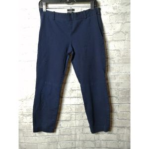 J crew Minnie cropped above ankle navy blue pants